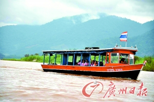 船游湄公河。