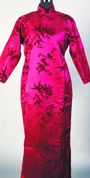吴贻芳穿过的旗袍