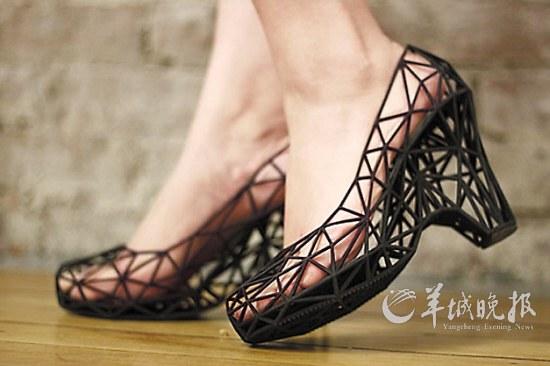 3d打印的鞋子了