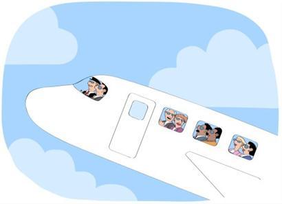 能携带上飞机的行李,根据舱位的不同,在1-2件之间,重量,尺寸都有限定.