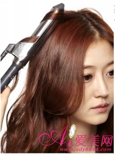 教你用卷发棒 打造少女时代气质卷发