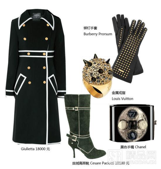 军装大衣搭配TIPS