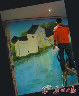 diy手绘壁画让家创意飞扬