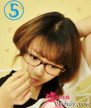麻豆教你长发变波波头短发 只需简单9步骤