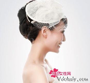 新娘盘发 韩式新娘发型扎法步骤教程