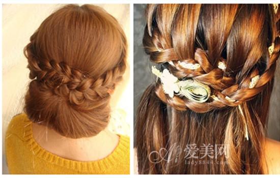 长发怎么编 2款春日气息麻花辫发型图片