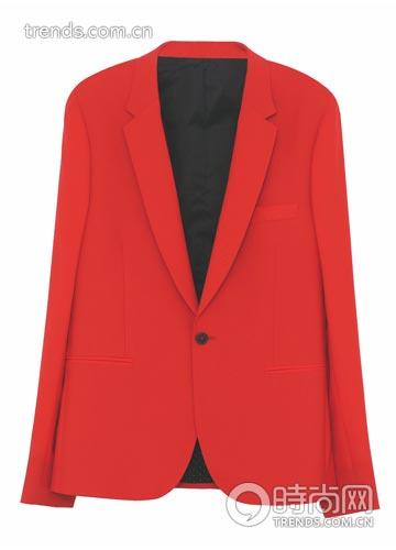 红色西装/etro