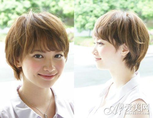 最新时尚短发发型 清爽可爱又迷人