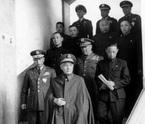 蒋介石 败军之将
