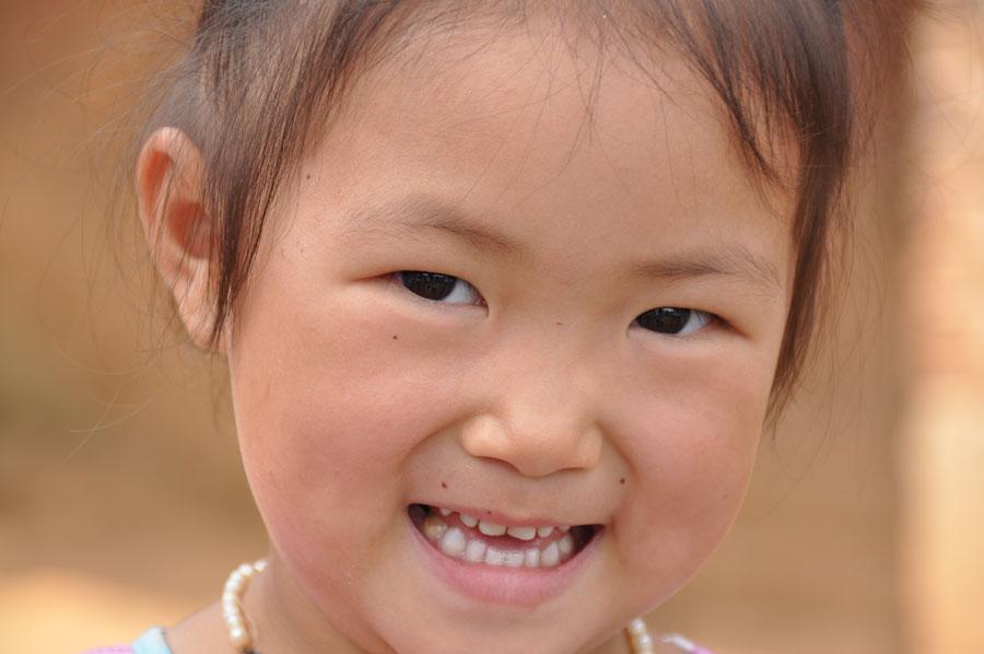 皇朝家私湖湘公益助学 孩子们的笑脸