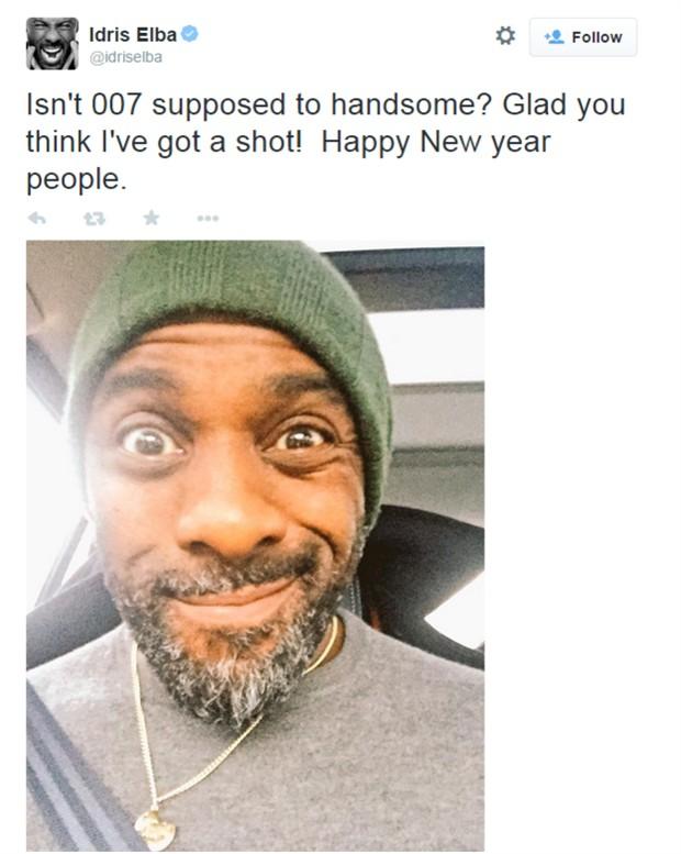 《环太》黑人男星回应出演邦德:007应该更帅些