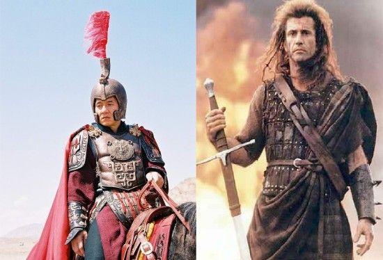传梅尔吉布森加盟成龙古装新片 饰演罗马将军