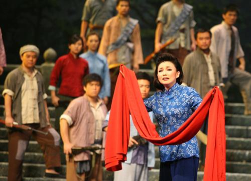 歌剧《江姐》重磅回归 时尚美声王莉再演江姐