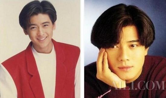 【发型屋】韩风正夯港台90年代六四分发型