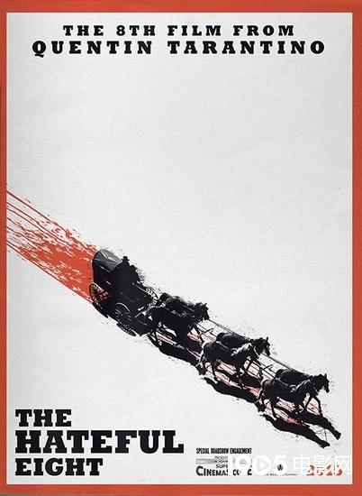 昆汀《八恶人》提至十二月开拍 将以70mm格式上映