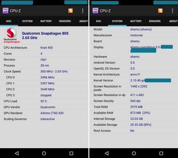 屏幕尺寸成疑Nexus 6参数配置遭曝光