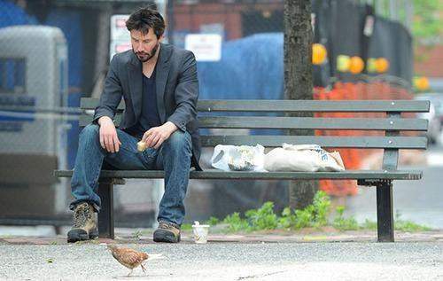 基努里维斯遭遇中年危机 遗憾没有参演超级英雄电影