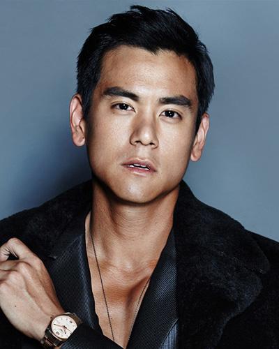 彭于晏清爽发型演绎30+成熟男人魅力