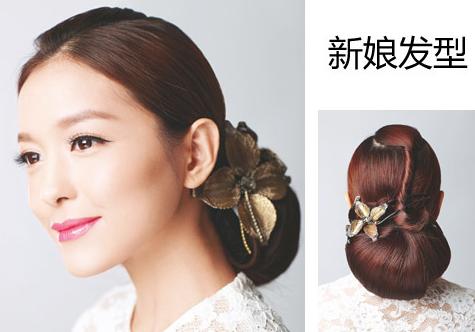 唯美韩式新娘发型发饰点缀更吸睛