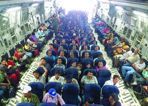 印度专家比较中印也门撤侨:中国效率高印度人数多