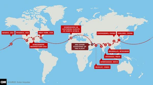 世界最大太阳能飞机因天气原因滞留重庆16天