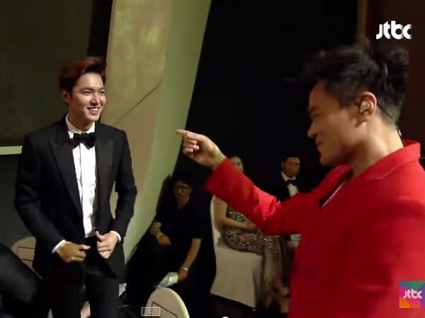 """李敏镐遭遇女友老板害羞握手如见""""老丈人"""""""