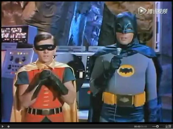 1966年的《蝙蝠侠》影集片段