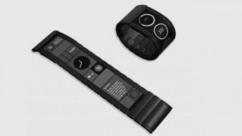 全球首款配柔性觸摸屏的智能腕帶