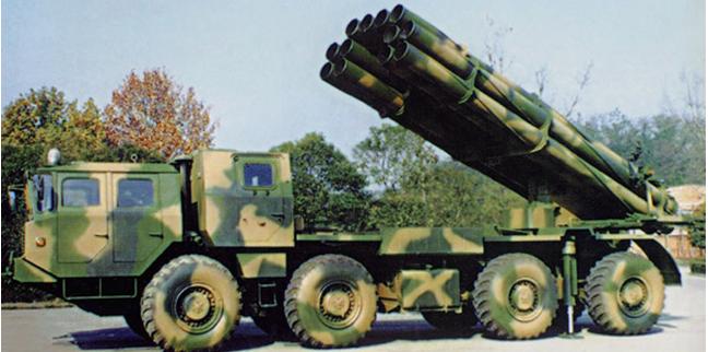 phl03式300毫米多远程火箭炮_我300毫米火箭炮一性能超美国