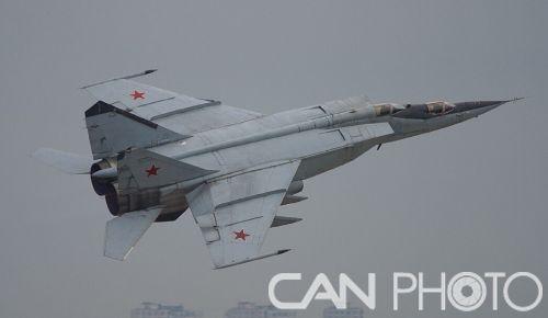 米格25高空高速截击机