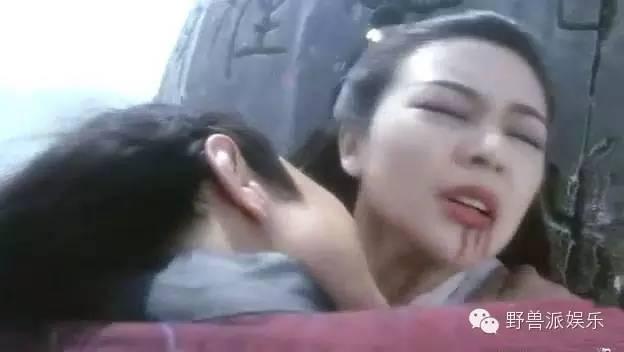 张铁林在电影《新仙鹤神针》里演大反派