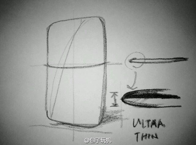 乐视超级手机2草图曝光真会长这样吗?