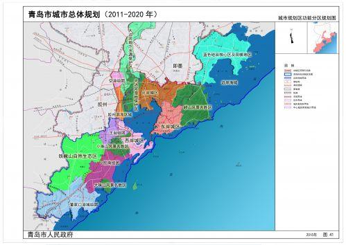 青岛市城市总体规划蓝图初现