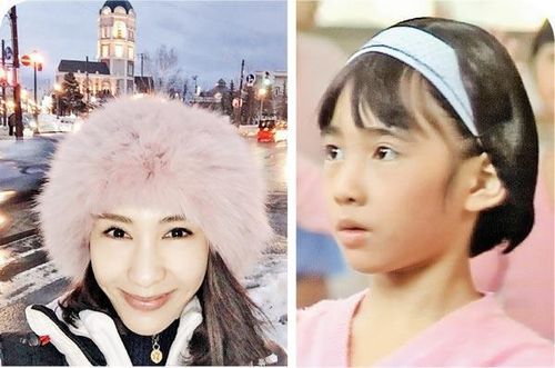 [明星爆料]黎姿9岁美照曝光 戴发箍俏皮可爱(图)