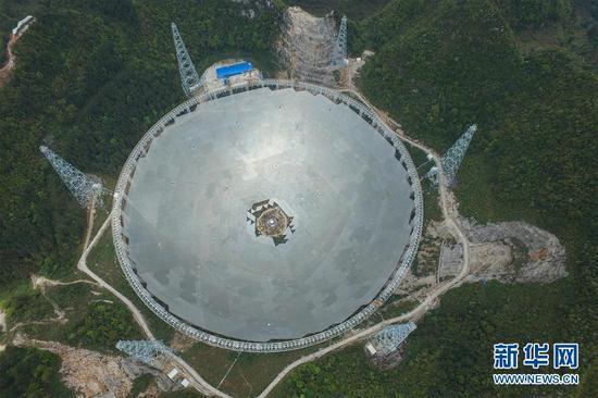 中国天眼项目进入收尾阶段:已装4185块反射面板
