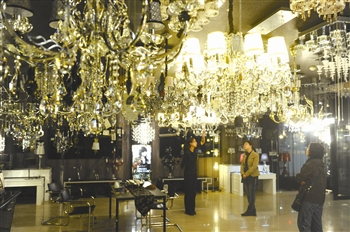 环渤海国际灯饰广场津门灯饰业龙头市场