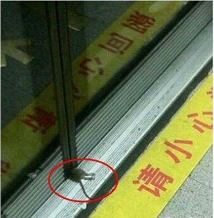 晚高峰,没有赶上地铁的鼠哥!