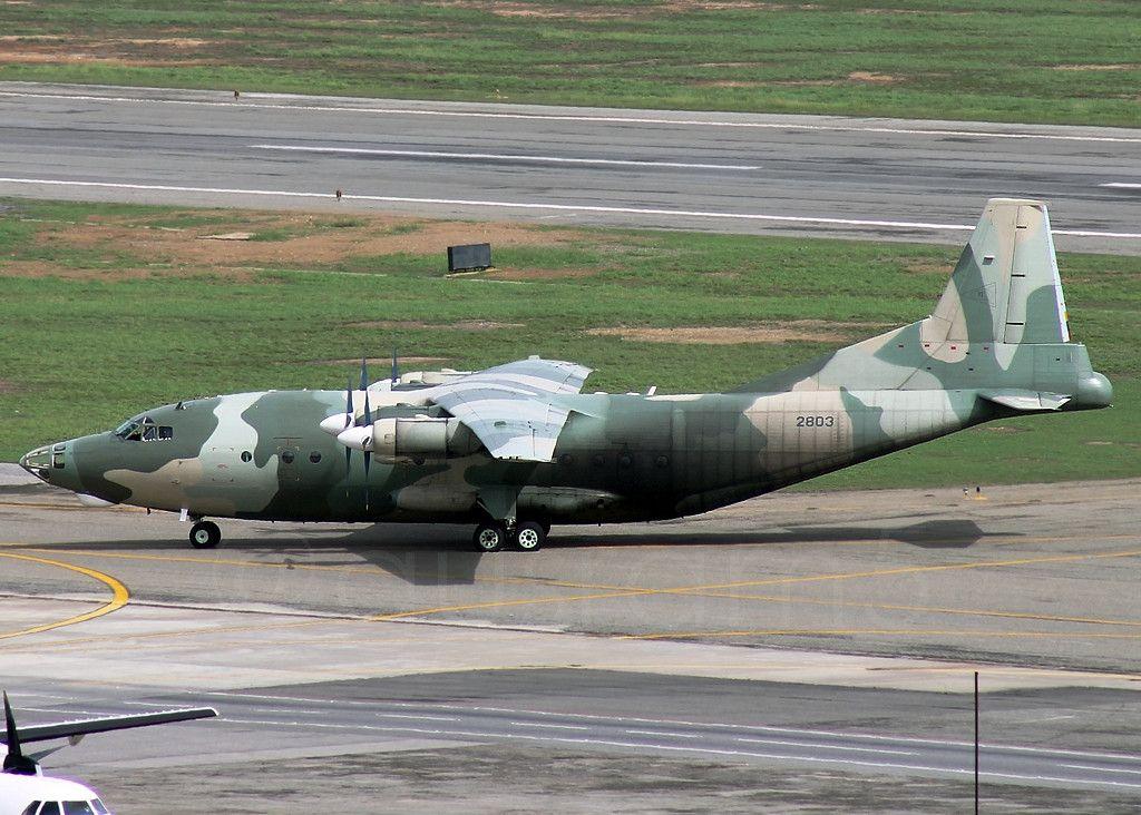 委内瑞拉装备的中国产运-8运输机  运-8由中国陕西飞机工业(集团)有限