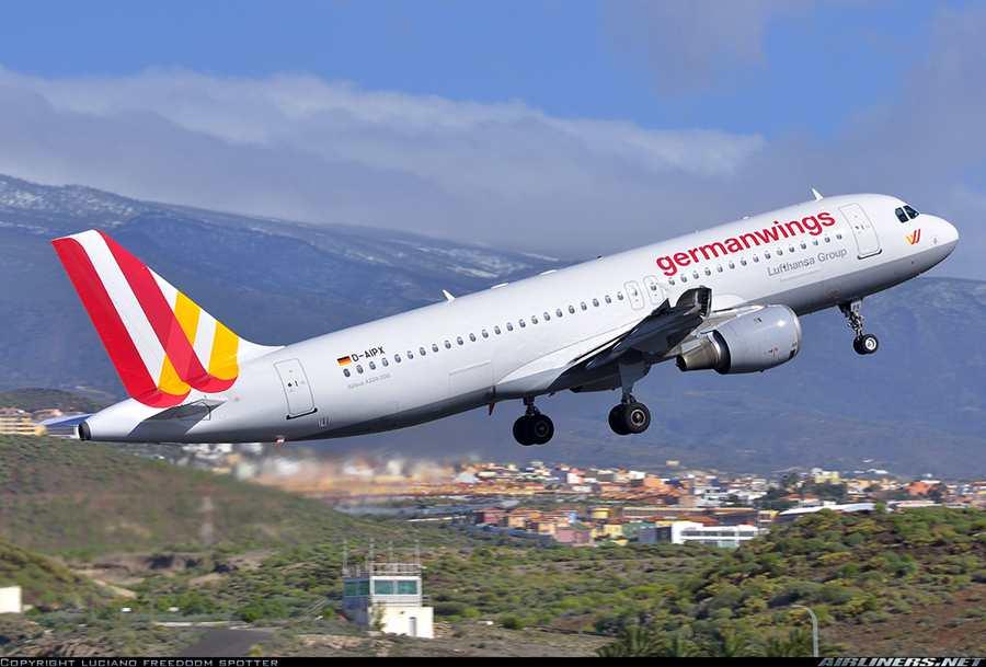 geman wings的这架失事客机型号是a320-200,机上座位174个.