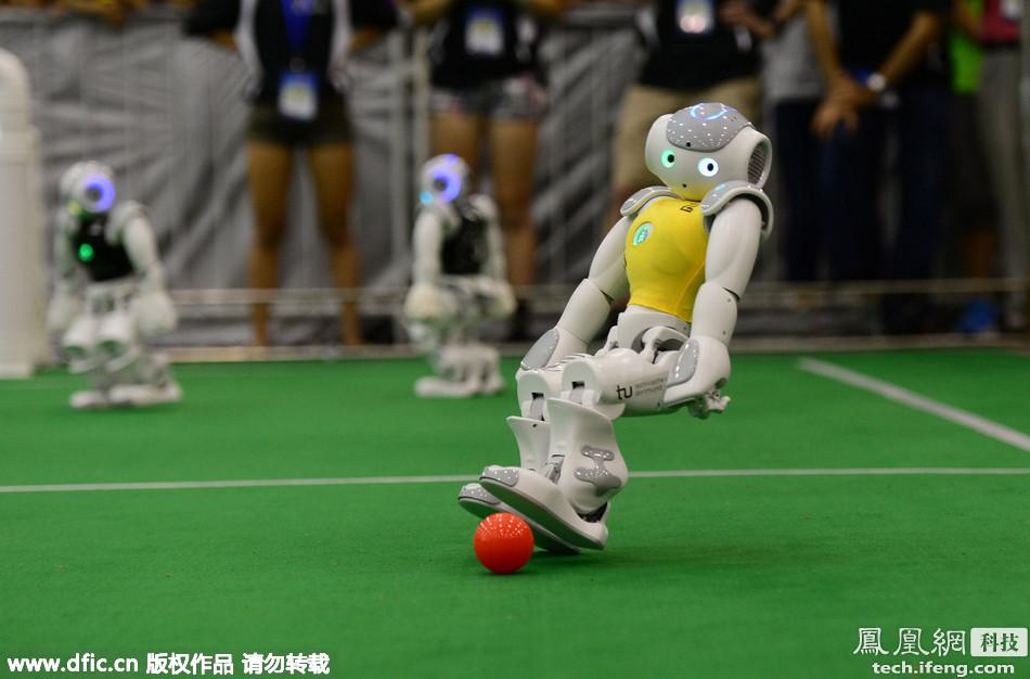 人工智能盛宴 机器人世界杯