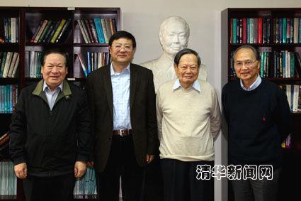顾秉林担任清华大学高等研究院院长(图)