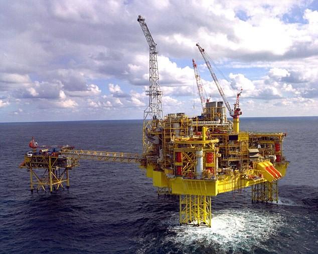 法国能源巨头道达尔公司位于英国北海的埃尔金油气田