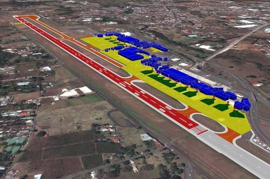 3d版机场地图及高精度