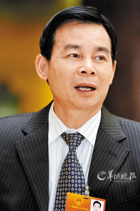 全国人大代表 李兴浩  羊城晚报特派北京记者 林桂炎 摄