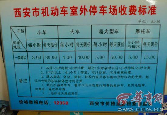 望庭国际停车费一天内4元涨至30元 物价局称合理
