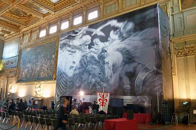 名画 失踪/《安吉里之战》可能藏在瓦萨里所绘壁画的墙壁后面
