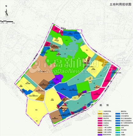 土地利用现状图(点击查看大图)