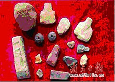 龙洞很可能是广州第一村,上世纪50年代出土多件新石器时代文物。