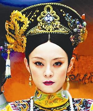 清朝美女图片大全手绘