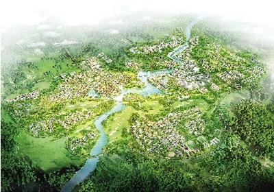 郑州向西 西有田园城市